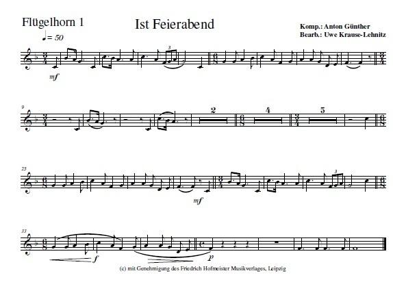 s ist Feierabend - Musikverlag Jelena